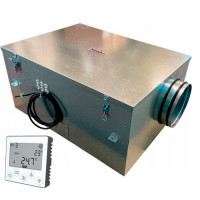 Установка вентиляционная приточная Node4- 200/E6 (500 м3/ч, 320 Па)