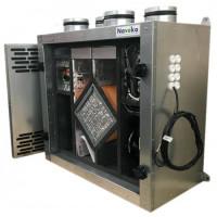Установка вентиляционная приточно-вытяжная Node5- 200/RP-M,VAC,E1.5 Vertical (400 м3/ч, 340 Па)