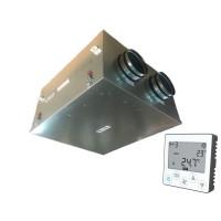 Установка вентиляционная приточно-вытяжная Node5- 200/RP-M,VAC,E1.5 Compact (400 м3/ч, 340 Па)